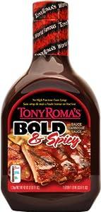 Tony Romas Bbq Sauce Bold Spicy 43-ounce Pack Of 3 from Tony Roma