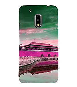 PRINTVISA Abstract Building Case Cover for MOTOROLA MOTO G4