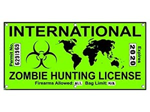 Zombie Hunting License
