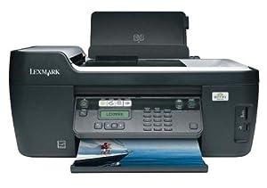 Lexmark - Interpret S405 - Multifunction ( fax copier printer scanner ) - colour - ink-jet - copying (up to): 25 ppm (mono) 21 ppm (colour) - printing (up to): 33 ppm (mono) 30 ppm (colour) - 100 sheets - 33.6 Kbps - Hi-Speed USB, 802.11b, 802.11g, USB ho