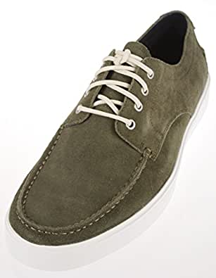 Cole Haan Men's Bergen Moc Oxford Shoes (7, Fatigue Suede)