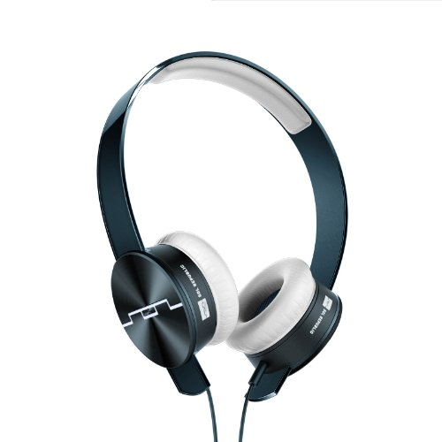 SOL REPUBILC Tracks Headphones with Remote and Mic (Blue)