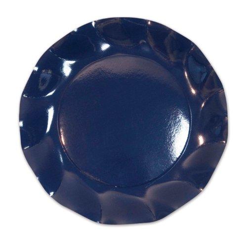 Navy Large Plates (10/Pkg)