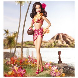Barbie Hula Honey Doll
