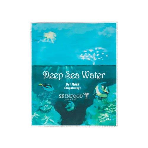 スキンフード 海洋深層水ゲルマスク 5個組