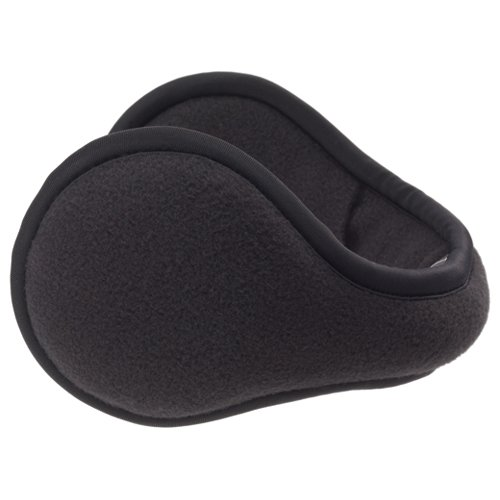 180s Fleece Behind-the-Head Earmuffs Black (Behind The Head Ear Muffs compare prices)