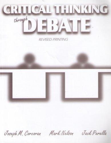 critical thinking through debate corcoran