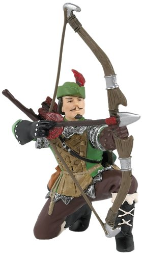 Papo Robin Hood Figurine With Bow & Arrow
