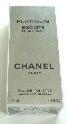 Egoiste Platinum by Chanel Eau de Toilette Spray 100ml