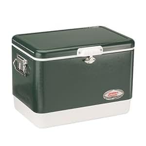 Coleman 54-Quart Steel-Belted Cooler, Green