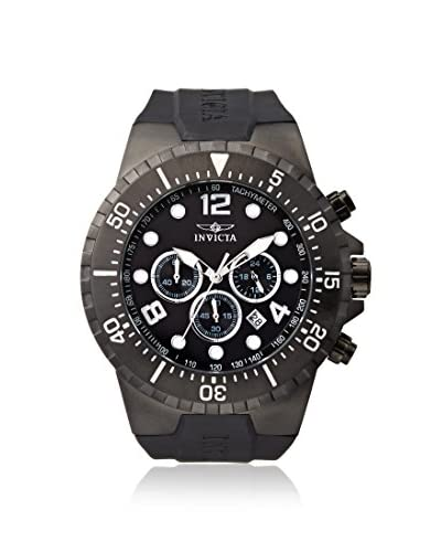 Invicta Men's 16751 Specialty Black Polyurethane Watch