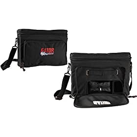 Gator Cases Single Wireless Microphone System Bag (Black)