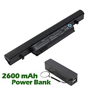 Battpit™ Laptop / Notebook Battery Replacement for Toshiba Tecra R950-11F (4400 mAh) with 2600mAh Power Bank / External Battery for Smartphone.