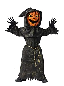 Bobble Head Pumpkin Costume - Medium