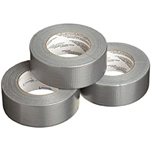 "IPG 5038-3 Fix-It Cloth/Duct Tape, 60 yards Length x 1-55/64"" Width (Pack of 3)"