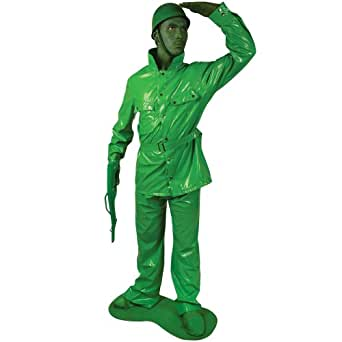 Morphsuits Saving Private Morph Toy Soldier Costume, Green