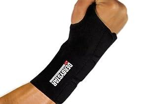 Derbystar Bandage Protect Care Handgelenkschutz Mit Schiene Rechts Xl/Xxl, Schwarz, Xl/Xxl