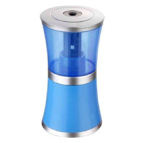 Cute Transparent Usb/Battery Auto Electric Pencil Sharpener (Blue)