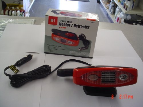Rv Camper 12 Volt Auto Heater Defroster With Led Light