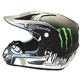 Helmet ヘルメット ゴーグル バイク用品 オートバイ 超人気 かっこいい オリジナルデザイン XL58-59 ブラック