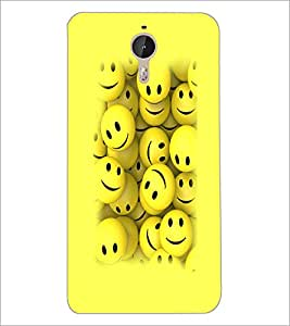 PrintDhaba Smilies D-3230 Back Case Cover for LETV (LE ECO) LE 1 PRO (Multi-Coloured)