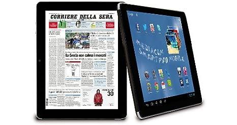 "Mediacom 875 S2 3G Tablette Tactile 8 "" Android Noir, Argent"