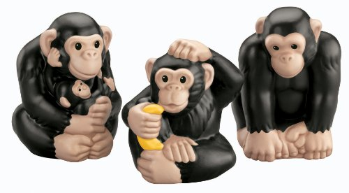 Fisher-Price Little People Zoo Talkers Chimpanzee Family Pack