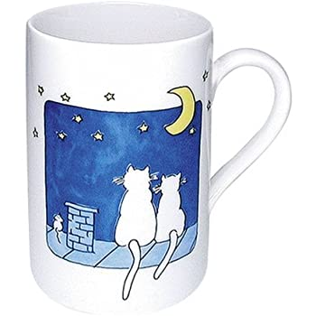 Cats at Night Mug