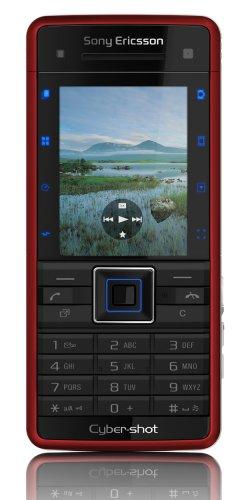 Sony Ericsson C902 Sim Free - luscious red