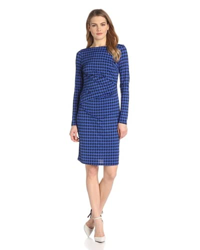 Karen Kane Women's Houndstooth Dress  [Print]