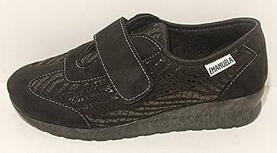 Negozio dettaglio Pantofole Pantofola Donna Nere Nera Nero Scarpe Strappo  Velcro Scarpa Made In Italy EMANUELA Art 2804. 64daaeb7e39