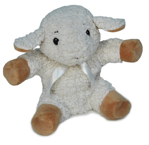 """Sleep Sheep Soothing Puppet 9"""" By Cloud B"""
