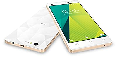 Lava X11 4G (White & Gold, 8 GB)