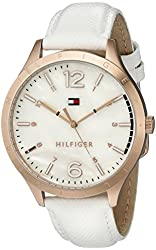 Tommy Hilfiger Women's 1781543 Casual Sport Analog Display Quartz White Watch