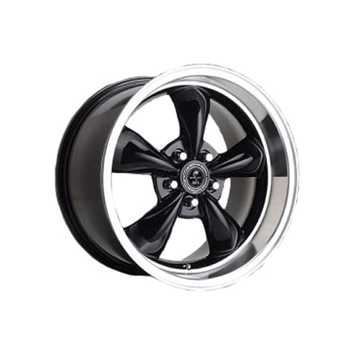 American Racing Shelby Shelby Torq Thrust M 17x8 Black Wheel / Rim 5x4.5 with a 0mm Offset and a 71.50 Hub Bore. Partnumber SB105MS7865B