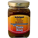 North American Herb and Spice, Wild Thistle Honey, 8-Ounce