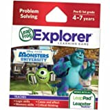 Dazzling Leapster Explorer Monsters University Software with Handy H8' Storage Bag