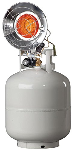 Mr Heater F242105 10-15k Btu Spark Ignition Tank Top Propane Patio Heater (Usa Made Propane Heater compare prices)
