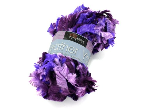 Case of 72 Feather yarn (assorted colors) - Additional