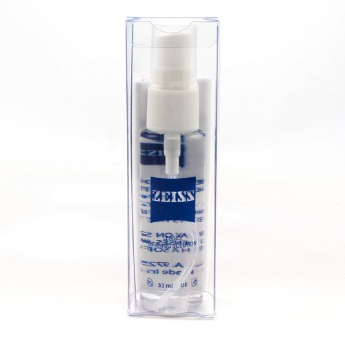 Zeiss Eyewear Lenses Cleaning Solution 33Ml Spray With Cleaning Cloth