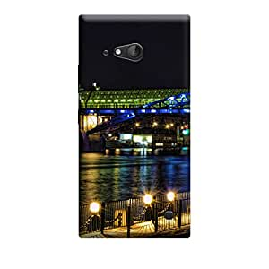TransMute Premium Printed Back Case Cover With Full protection For Nokia Lumia 730 (Designer Case)