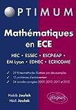 Mathématiques en ECE 2009 à 2012 24 Annales Corrigés Concours HEC ESSEC ESCP-EAP EM-Lyon EDHEC Ecricome