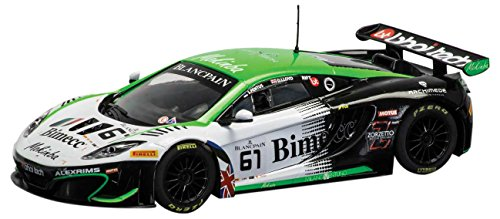 Scalextric McLaren MP4-12C Team Bhaitec Slot Car (1:32 Scale)