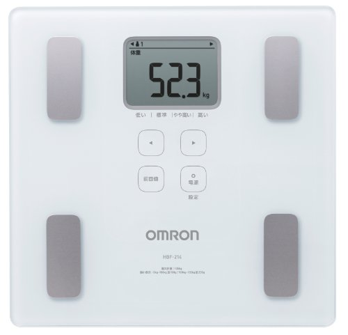 Cheap Omron KARADA Scan Body Composition & Scale | HBF-214-W (Japanese Import) (HBF-214-W)