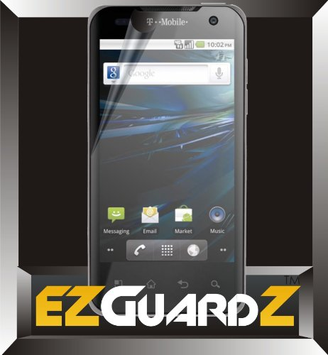 5-Pack EZGuardZ© T-Mobile LG G2X Screen Protectors (Ultra CLEAR)(EZGuardZ© Packaging)