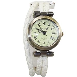 Generic Lady Hours Alloy Adjust Strap Quartz Wristwatch Round Dial diamond band WatchNew