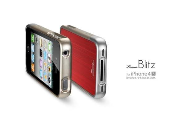 SGP iPhone4/4S ケース リニア ブリッツ [レッド]