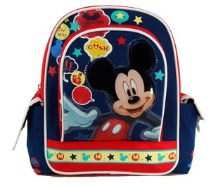 Disney Mickey Mouse Backpack - 10in Mickey Mini Backpack - Say Chees