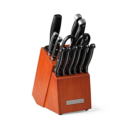 KitchenAid 14-pc. Triple Rivet Knife Block Set (Kitchenaid Knife Set With Block compare prices)