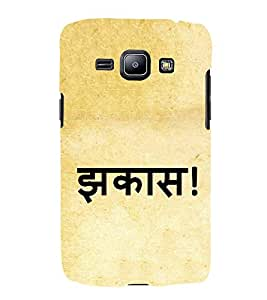 Jhakas 3D Hard Polycarbonate Designer Back Case Cover for Samsung Galaxy J2 (2016)